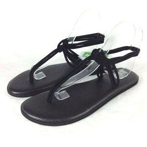 Sanuk Yoga Sunshine Thong Sandals Athleisure